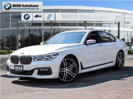 2018 BMW 750i xDrive (Stk: P9120) in Thornhill - Image 1 of 32