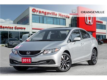 2015 Honda Civic EX (Stk: F19345A) in Orangeville - Image 1 of 21