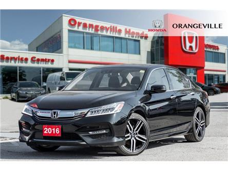 2016 Honda Accord Touring V6 (Stk: U3232) in Orangeville - Image 1 of 21