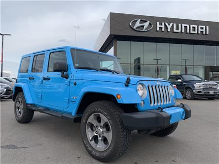 2018 Jeep Wrangler JK Unlimited Sahara (Stk: H2469) in Saskatoon - Image 1 of 29