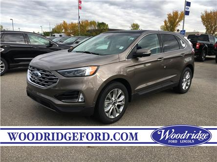 2019 Ford Edge Titanium (Stk: K-2477) in Calgary - Image 1 of 5