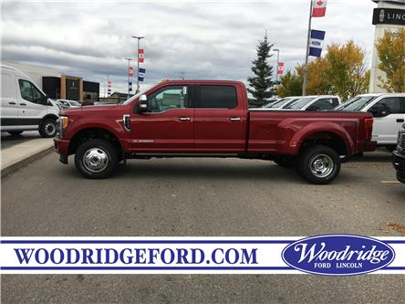 2019 Ford F-350 Platinum (Stk: K-2670) in Calgary - Image 2 of 5