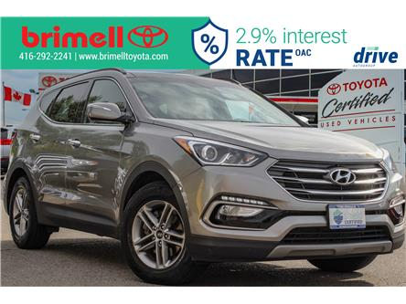 2018 Hyundai Santa Fe Sport 2.4 Luxury (Stk: 9977R) in Scarborough - Image 1 of 33