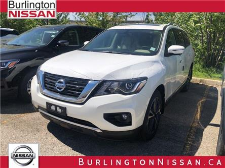 2019 Nissan Pathfinder Platinum (Stk: Y4049) in Burlington - Image 1 of 5