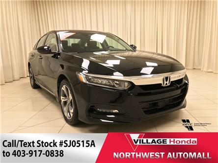 2019 Honda Accord EX-L 1.5T (Stk: SJ0515A) in Calgary - Image 1 of 30