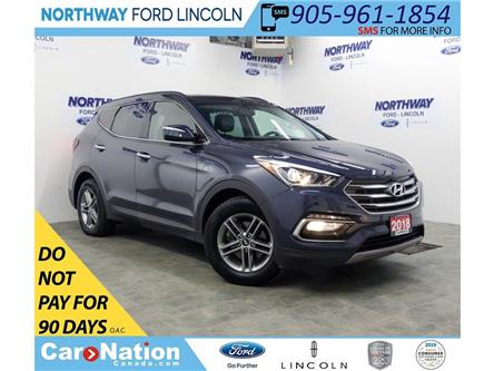 2018 Hyundai Santa Fe Sport SE | AWD | PWR HTD LEATHER | PANOROOF | (Stk: DR440) in Brantford - Image 1 of 43