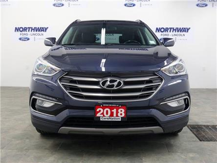2018 Hyundai Santa Fe Sport SE | AWD | PWR HTD LEATHER | PANOROOF | (Stk: DR440) in Brantford - Image 2 of 43