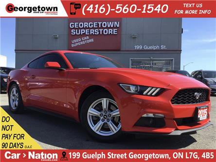 2015 Ford Mustang EcoBoost | 6 SPEED | BACK UP CAM | ALLOYS | FOGS (Stk: P12567) in Georgetown - Image 1 of 26