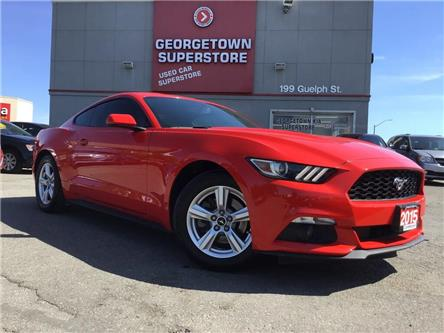 2015 Ford Mustang EcoBoost | 6 SPEED | BACK UP CAM | ALLOYS | FOGS (Stk: P12567) in Georgetown - Image 2 of 26