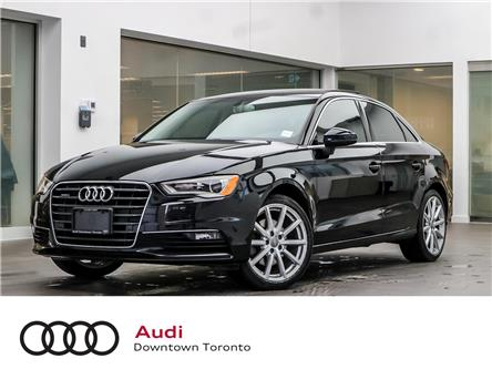 2015 Audi A3 2.0T Technik (Stk: P3122) in Toronto - Image 1 of 27
