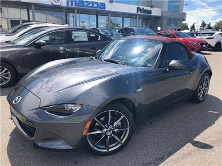 2019 Mazda MX-5 GT, RED TOP, MANUAL, 181 HORSEPOWER (Stk: D19-528) in Woodbridge - Image 1 of 30