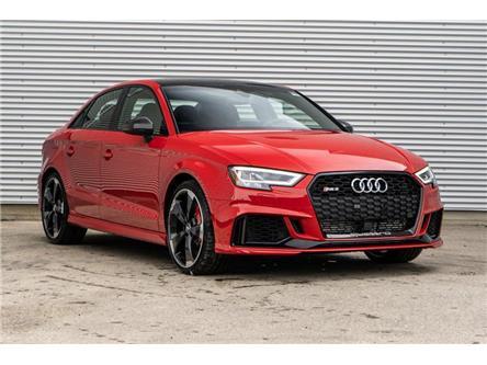 2019 Audi RS 3 2.5T (Stk: N5350) in Calgary - Image 1 of 22