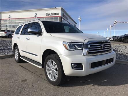2019 Toyota Sequoia Platinum 5.7L V8 (Stk: 190401A) in Cochrane - Image 1 of 18
