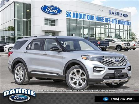 2020 Ford Explorer Platinum (Stk: U0003) in Barrie - Image 1 of 3