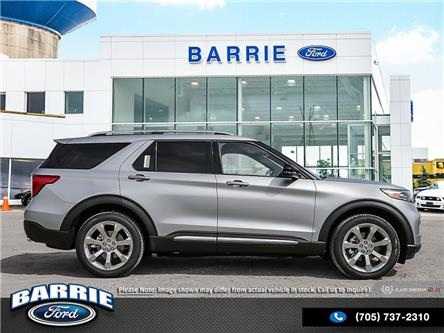 2020 Ford Explorer Platinum (Stk: U0003) in Barrie - Image 2 of 3
