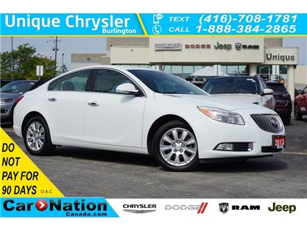 2013 Buick Regal 1SL| eASSIST| LEATHER| HEATED SEATS| REMOTE START (Stk: K014A) in Burlington - Image 1 of 50