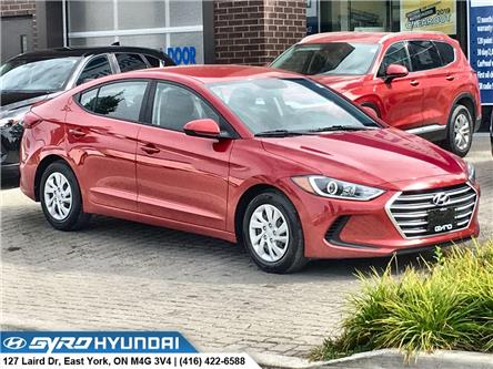 2017 Hyundai Elantra LE (Stk: H5289) in Toronto - Image 1 of 27