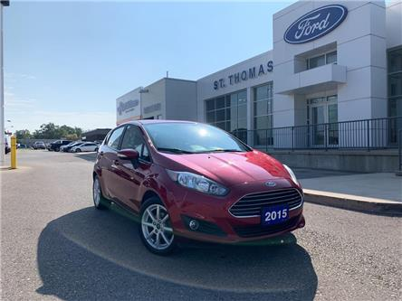 2015 Ford Fiesta SE (Stk: A6858B) in St. Thomas - Image 1 of 24