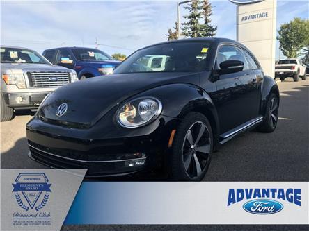 2012 Volkswagen Beetle 2.0 TSI Sportline (Stk: K-2395A) in Calgary - Image 1 of 15