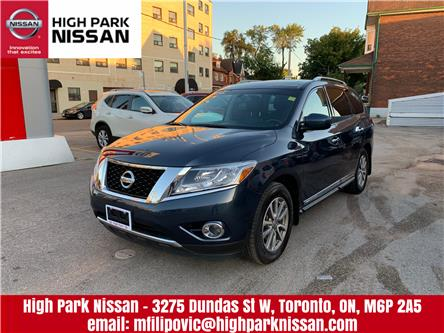 2016 Nissan Pathfinder SL (Stk: U1667) in Toronto - Image 1 of 23
