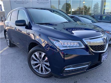 2014 Acura MDX Navigation Package (Stk: 7968H) in Markham - Image 1 of 30