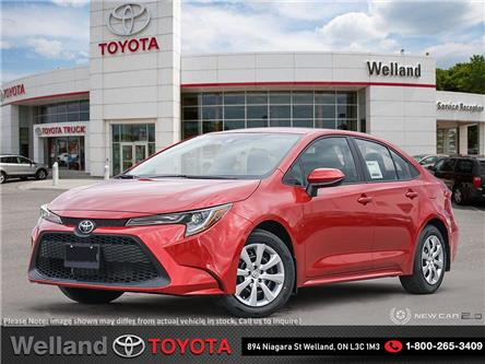 2020 Toyota Corolla LE (Stk: COR6835) in Welland - Image 1 of 24