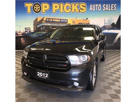 2012 Dodge Durango R/T (Stk: 271367) in NORTH BAY - Image 1 of 28