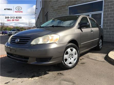 2004 Toyota Corolla CE B PKG ULTRA LOW ORGINAL KMS PWR LOCK-MIRRORS, C (Stk: 45286A) in Brampton - Image 1 of 24