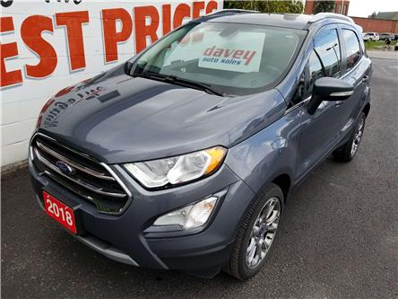 2018 Ford EcoSport Titanium (Stk: 19-660) in Oshawa - Image 1 of 16
