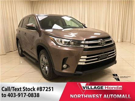 2017 Toyota Highlander  (Stk: B7251) in Calgary - Image 1 of 30