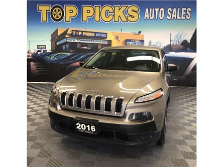 2016 Jeep Cherokee Sport (Stk: 307964) in NORTH BAY - Image 1 of 26