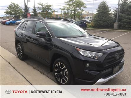 2019 Toyota RAV4 TRAIL AWD (Stk: 036145I) in Brampton - Image 1 of 17