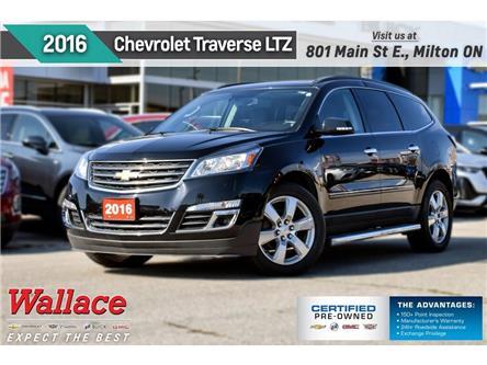 2016 Chevrolet Traverse LTZ/AWD/NEW BRAKES&TIRES/SUNRF/NAV/HTD STS&WHL (Stk: PR5115) in Milton - Image 1 of 28