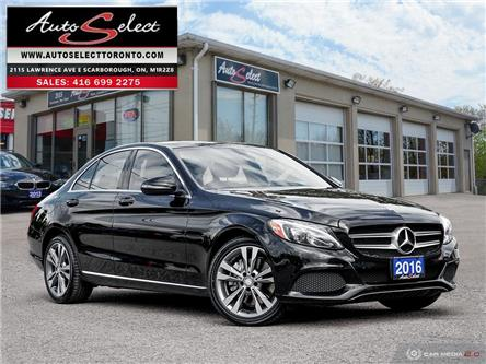 2016 Mercedes-Benz C-Class 4Matic (Stk: 16MBBMC) in Scarborough - Image 1 of 28