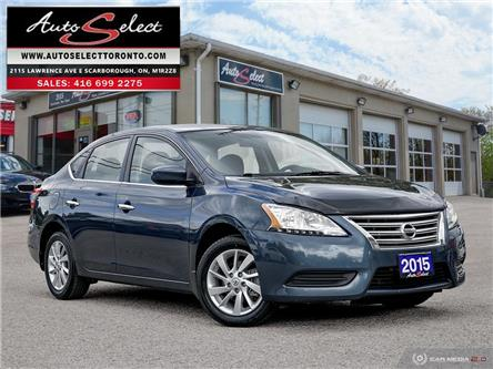 2015 Nissan Sentra  (Stk: 1NATR41) in Scarborough - Image 1 of 27