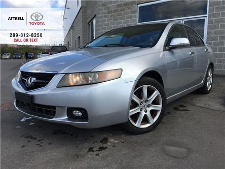 2004 Acura TSX LEATHER, SUNROOF, ALLOY WHEELS, FOG LAMPS, SPOILER (Stk: 45177A) in Brampton - Image 1 of 21