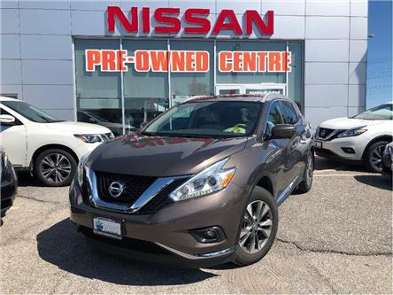 2016 Nissan Murano SL/BEIGE LEATHER (Stk: U3077) in Scarborough - Image 1 of 9