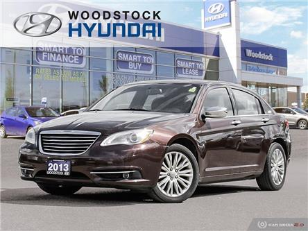 2013 Chrysler 200 Limited (Stk: KA19072A) in Woodstock - Image 1 of 27
