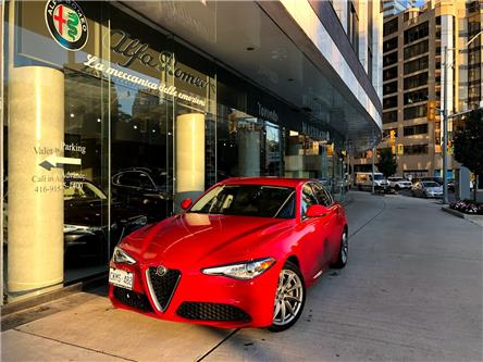2017 Alfa Romeo Giulia Base (Stk: 39AR) in Toronto - Image 1 of 29