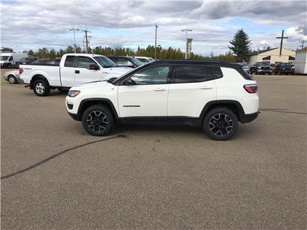2019 Jeep Compass Trailhawk (Stk: 19CP5426) in Devon - Image 1 of 15