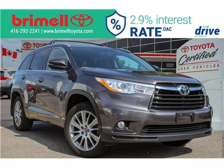 2016 Toyota Highlander XLE (Stk: 197409B) in Scarborough - Image 1 of 28