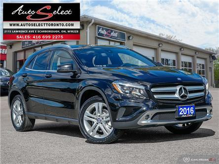2016 Mercedes-Benz GLA-Class 4Matic (Stk: 16GMLA6) in Scarborough - Image 1 of 28