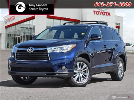 2016 Toyota Highlander XLE (Stk: M2705) in Ottawa - Image 1 of 30