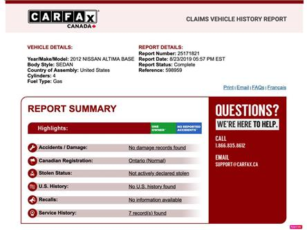 2012 Nissan Altima 2.5 S (Stk: 3191) in North York - Image 2 of 30