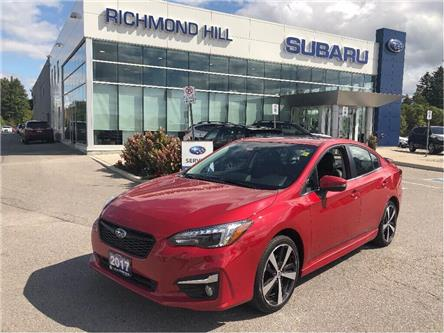 2017 Subaru Impreza Sport-tech (Stk: LP0317) in RICHMOND HILL - Image 1 of 20