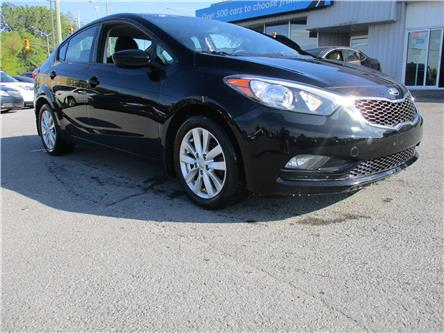 2016 Kia Forte 1.8L LX+ (Stk: 191284) in Kingston - Image 1 of 12