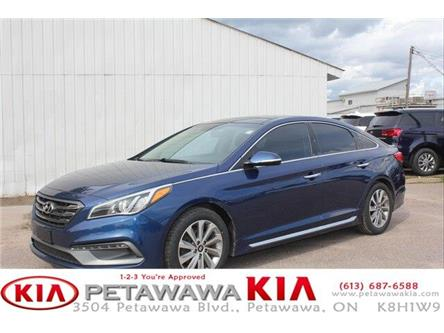 2016 Hyundai Sonata Sport Tech (Stk: 20119-1) in Petawawa - Image 1 of 23
