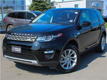 2019 Land Rover Discovery Sport HSE (Stk: V190380A) in Fredericton - Image 1 of 9