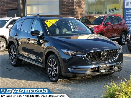 2018 Mazda CX-5 GT (Stk: 28855A) in East York - Image 1 of 30