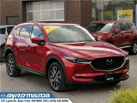 2018 Mazda CX-5 GT (Stk: 29087A) in East York - Image 1 of 30